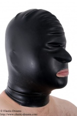 Mask nose and mouth open