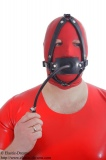 Butterflygag head harness option lockable