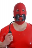 Butterflygag (big) harness option lockable