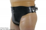 Forced belt deluxe and inflatable plug option lockable
