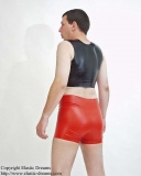 Gents hotpants with options