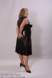 Dresses long front laced