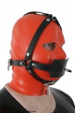Butterflygag head harness with pressure ball option lockable