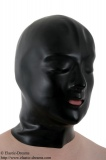 Anatomical mask 0,9mm with zip