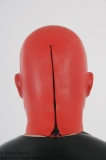 Anatomical discipline mask 2mm w. inflatable gag and zipper