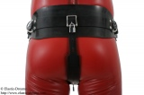 Forced belt deluxe with lockable front